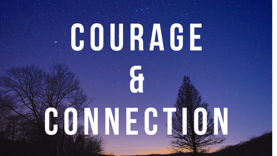 courage and connection words for 2018