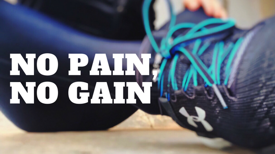 no pain no gain running shoes