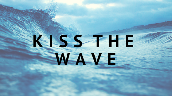 """I have learned to kiss the wave that throws me against the rock of ages."""