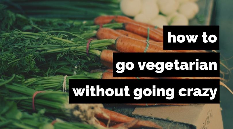 Wanting to go vegetarian but don't know how to start? Here are some tips!